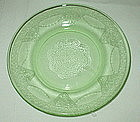 "Federal GEORGIAN Lovebirds 6"" Sherbet Plates, Green"