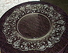 """Cambridge ROSE POINT #3400/65 14"""" Chop Plate, Crystal"""