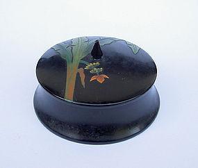 Japanese Ryukyu lacquer ware lidded box