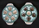 French snail dishes by Robert Picault, Vallauris, 1950�s