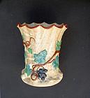 Early Villeroy & Boch Mettlach beaker vase