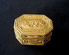 French empire style ormolu box