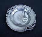 German Jugendstil WMF small pewter dish