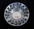 German Jugendstil silver plated pewter bowl by Kayser