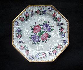 Samson octagonal Qianlong style plate