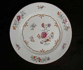Samson of Paris: pair of Qianlong style plates