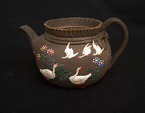 Japanese Banko teapot, 19th century