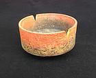 Italian Fantoni unglazed bowl, 1950's