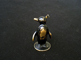 Austrian bronze: Bosse and Baller miniature penguin