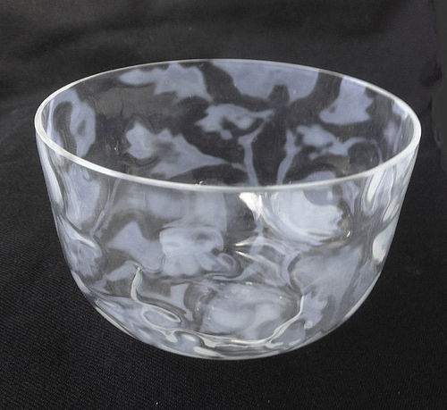 English John Walsh Walsh opaline bowl, c 1900