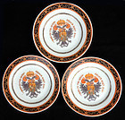 Armorial plates for the 1820 service of Arch Duke of Austria, later