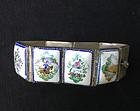Vintage Persian enamel bracelet