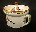 Minton early Deco mustard pot