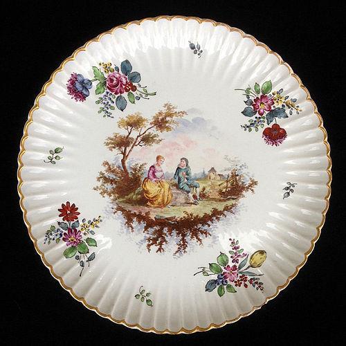 A Samson Höchst / Hoechst large dish, late 19th century