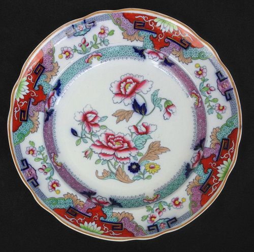 Copeland Late Spode Imari plate, early Victorian