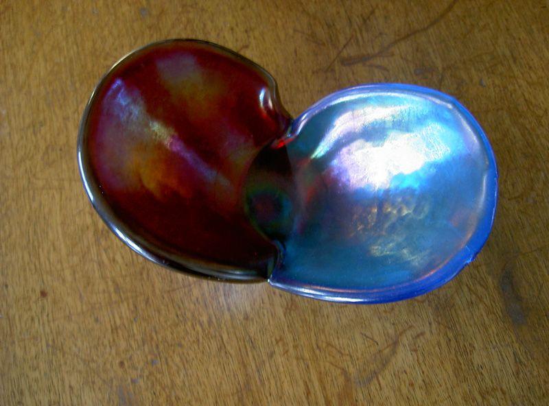 Murano AVEM bowl, probably by Giorgio Ferro, c 1950