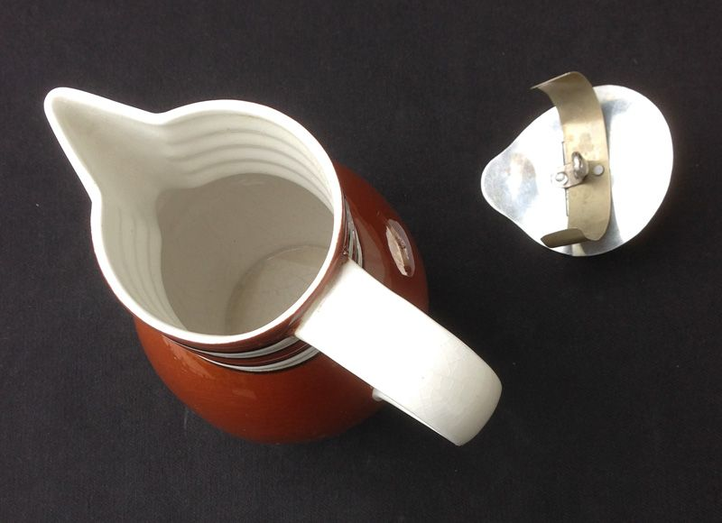 Chocolate pot by Carstens, Georgenthal, c 1930