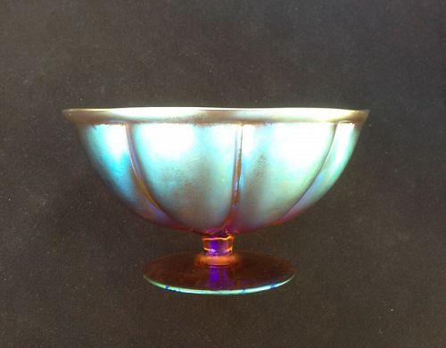 WMF Myra footed bowl, c 1930