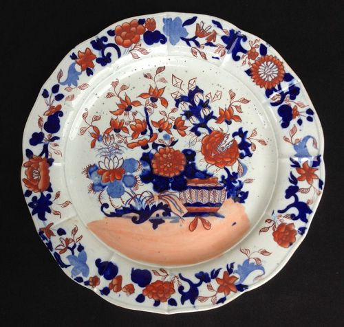 Mason�s Patent Ironstone Japan pattern charger, early 19th century