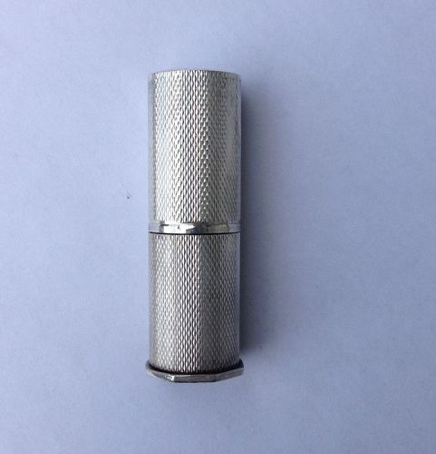 Danish 830 silver lipstick holder by Hansen & Andersen, 1940�s