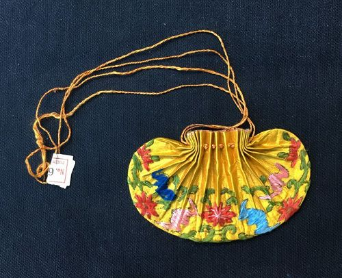 Chinese silk scent pouch