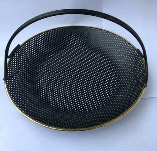 French Modernist basket tray, Mathieu Mategot