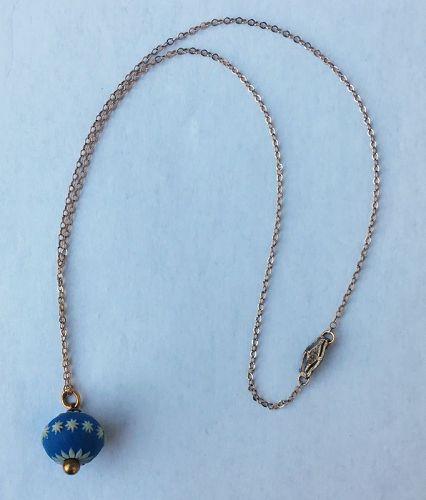 Wedgwood jasper ware pendant, Georgian
