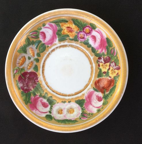 French or Russian saucer dish