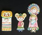 Whimsical 50�s wall plaques by Gensini, Italy