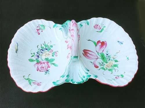 French faience, �Old Strasbourg� sweetmeat dish, K & G, Luneville