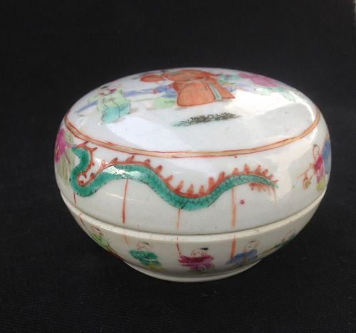 Tongzhi seal paste box with celebration of the Chinese New Year