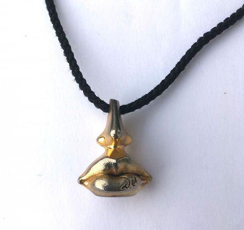 Salvador Dali Aphrodite pendant
