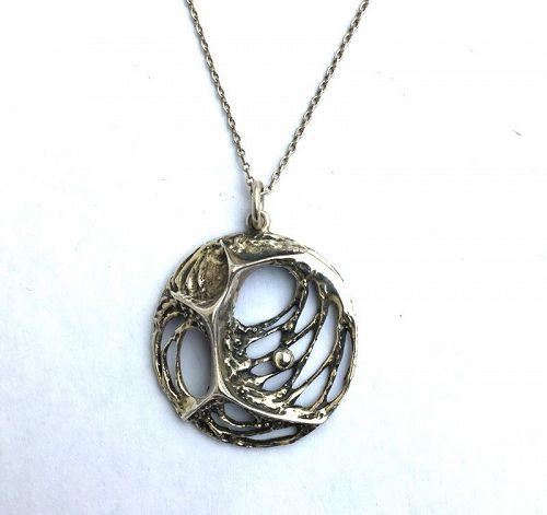 Spider Web pendant by Karl Laine, Finnfeelings