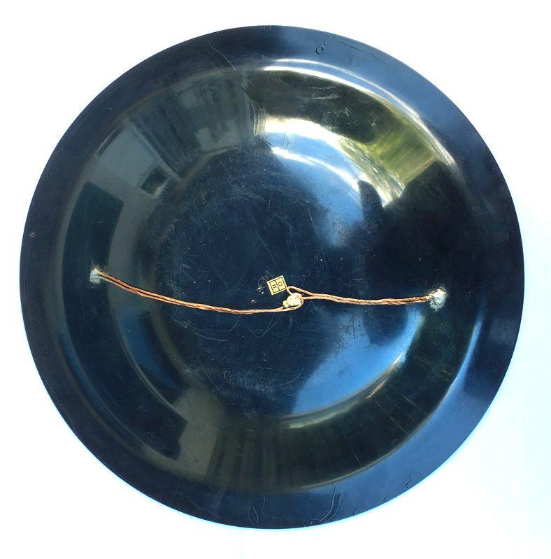 WMF Ikora patinated metal Deco dish or bowl