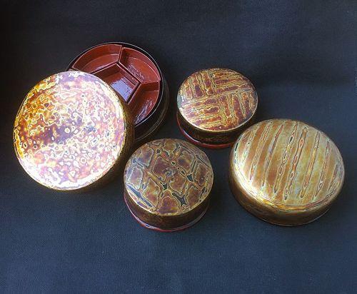 Tsugaru / Wakasa lacquer boxes