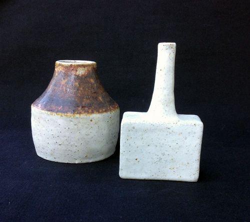 Bruno Gambone, two vases