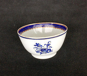 Chinese Export tea bowl, for the American market