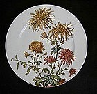 English early Aesthetic Movement plate