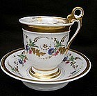 Cabinet cup and saucer, French gift of friendship