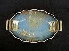 English Carlton Ware bowl in the Cranes pattern