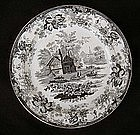 "English transfer printed W Smith & Co ""Wedgewood"" plate"