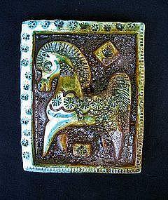 Italian Aldo Londi style tile