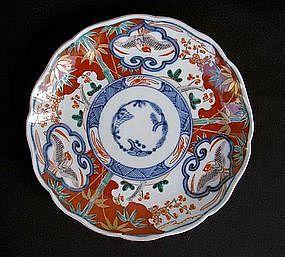 Japanese Imari plate, Edo
