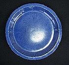 Powder blue Chinese Guangxu plate