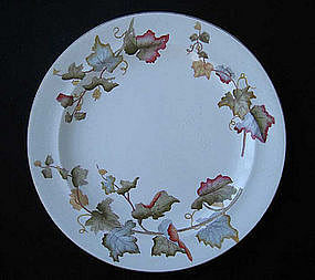 Aesthetic Movement plate in the Vine pattern by Ridgway
