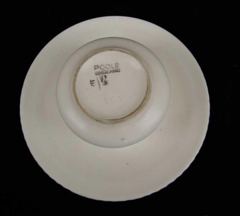Poole Pottery posy holder 2