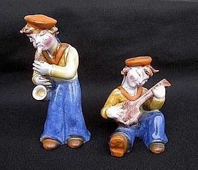 Maria Ráhmer figurines of sailor boys