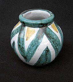 Vallauris Daniel globular vase, c. 1960