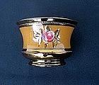 Copper lusterware bowl, Victorian
