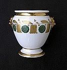 Paris porcelain sugar bowl, early 19th century